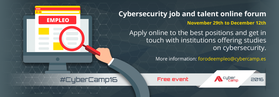 Online Cybersecurity Talent and Job Fair
