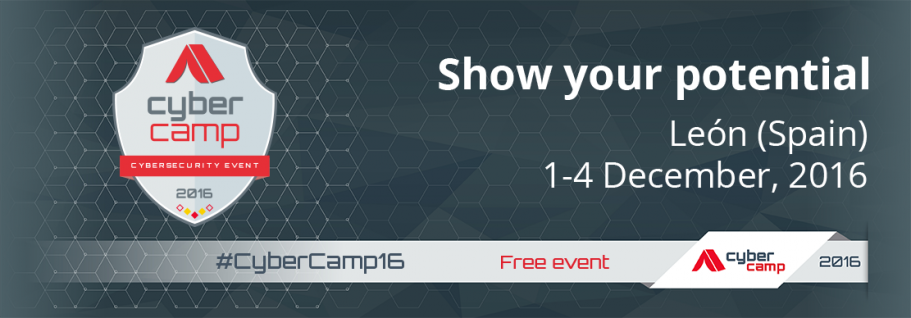CyberCamp 2016: Show your potential